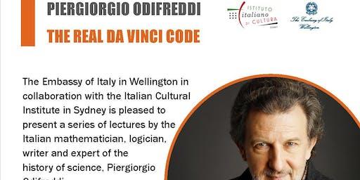 The Real Da Vinci Code - a lecture by Piergiorgio Odifreddi in Wellington