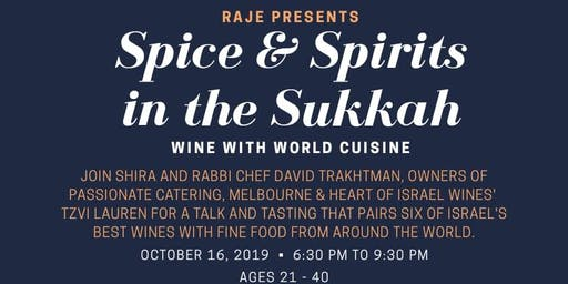 Spice & Spirits in the Sukkah