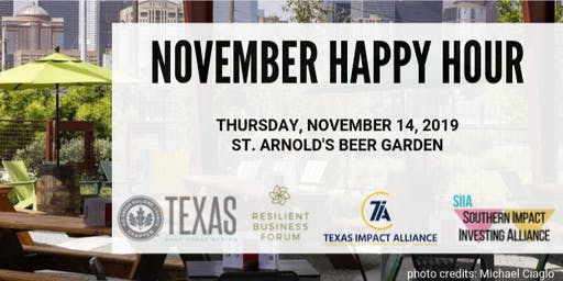 Joint November Happy Hour for Green Professionals