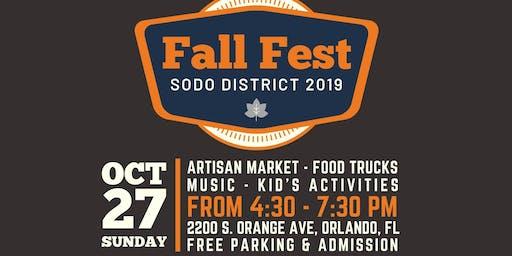 Fall Fest in SODO District