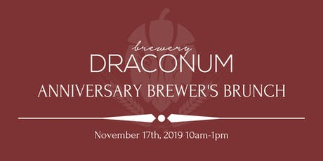 Anniversary Brewer's Brunch tickets