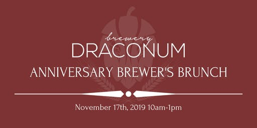 Anniversary Brewer's Brunch