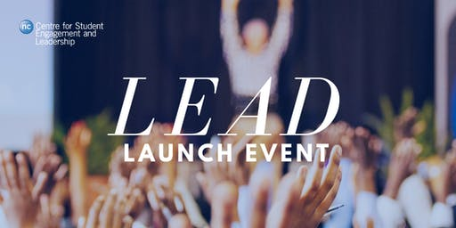 LEAD Launch - Welcome Event