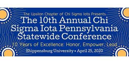 10th Annual Chi Sigma Iota Pennsylvania Statewide Conference