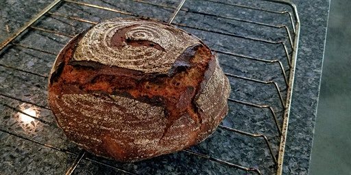 1-Day Sprouted Einkorn Wheat Sourdough Breadmaking Demo Class December