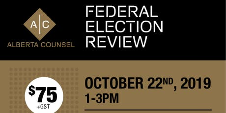 Federal Election Review tickets