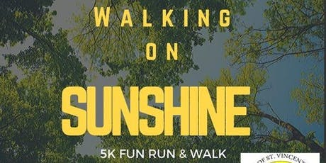 Walking on Sunshine Charity 5 Km tickets