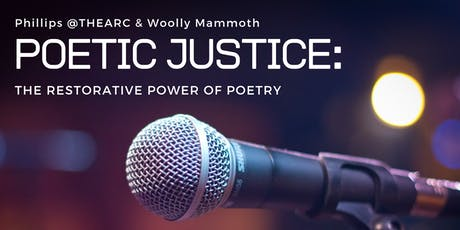 Poetic Justice: The Restorative Power of Poetry tickets