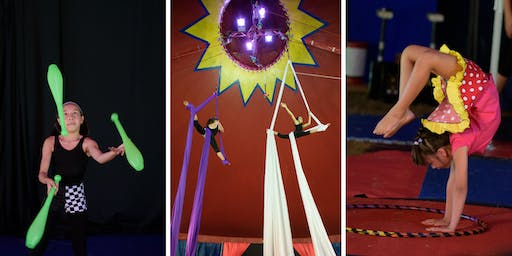 Westchester Circus Arts at the Tourette  NYHV Chapter Family Event