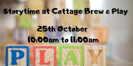 Storytime at Cottage Brew and Play tickets