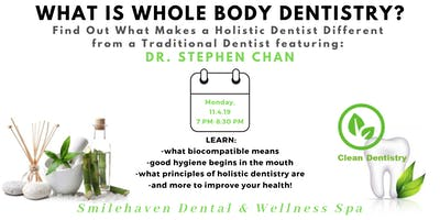 Whole-Body Dentistry 101