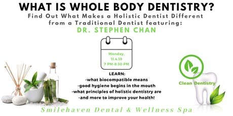 Whole-Body Dentistry 101 tickets