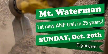 MWBA Mount Waterman Trail Work Day #3 tickets
