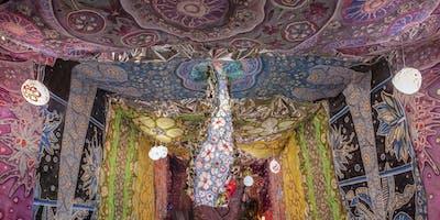 """Vibration of Color: A Soundbath Inside of """"Alchemy Tunnel"""""""