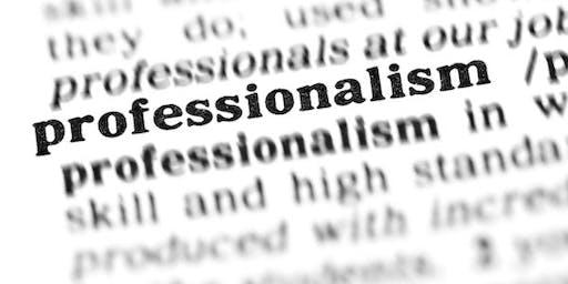 UTMB Professionalism Workshop 2019