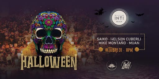 Jueves 31 - Halloween at INTI Beach - Fiesta de Disfraces