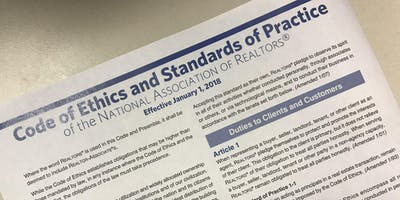 Code of Ethics: Our Promise of Professionalism CE Class