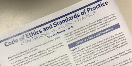 Code of Ethics: Our Promise of Professionalism CE Class tickets