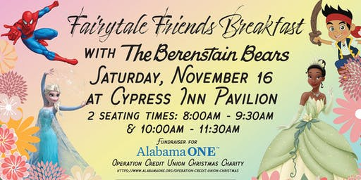 Fairytale Friends Breakfast with The Berenstain Bears