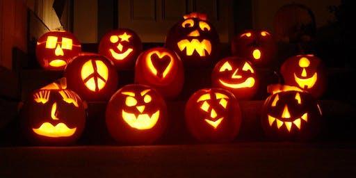 Boozy Pumpkin Carving