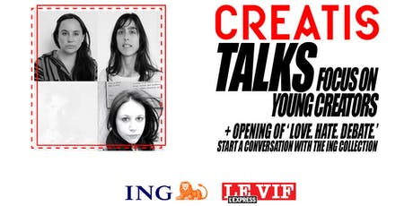 Brussels Creatis Talks - Focus on young creators // Opening billets