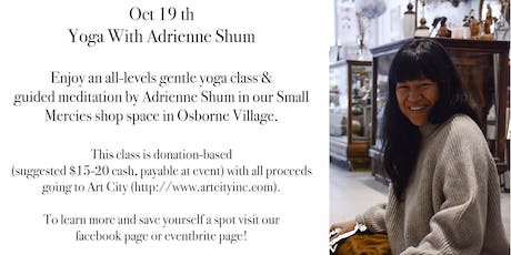 Yoga w/ Adrienne Shum hosted by Small Mercies Co tickets