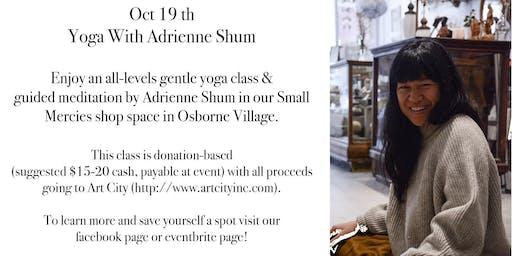 Yoga w/ Adrienne Shum hosted by Small Mercies Co
