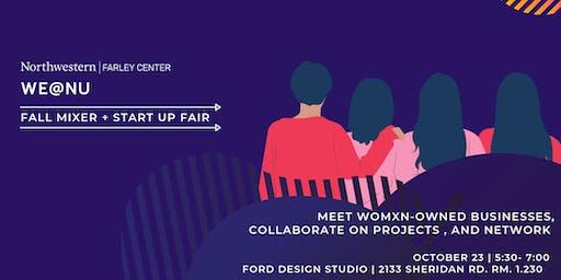 The Farley Center Presents: WE@NU Fall Mixer + Startup Fair