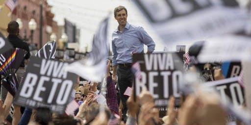 NEW BRAUNFELS FOR PRESIDENTIAL CANDIDATE BETO O'ROURKE WEEKEND SOCIAL