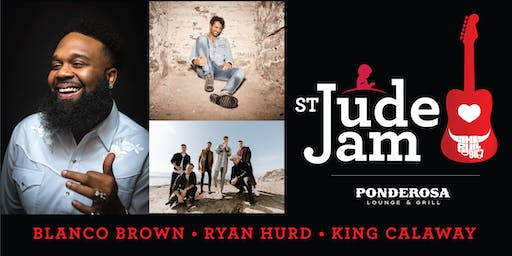 SOLD OUT! St. Jude Jam w/ Blanco Brown, Ryan Hurd & King Calaway