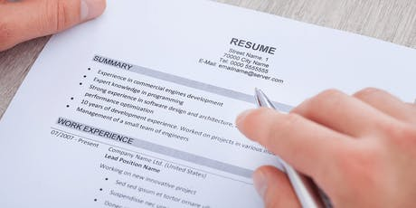 Hands-on Help: Write Better Resumes and Cover Letters tickets