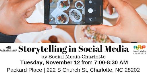 Storytelling in Social Media Panel