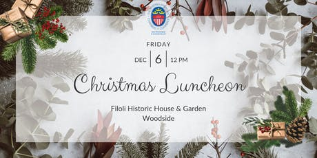 Christmas Luncheon 2019 tickets