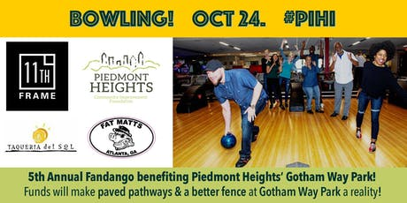 Bowling for Piedmont Heights: 5th Annual Fandango tickets