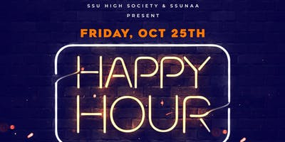 SSU High Society & SSUNAA HAPPY HOUR
