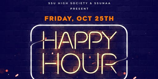 SSU High Society & SSUNAA HAPPY HOUR
