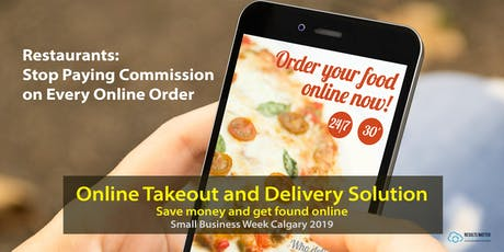 Restaurants: Stop Paying Commission on Online Orders [Workshop] tickets