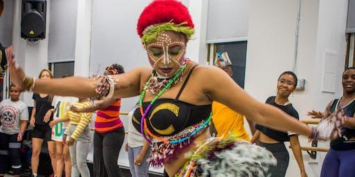 Afrobeat Dance w/ SayRah:  Foundations  Workshop