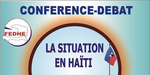Conférence débat Haiti