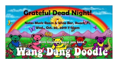 GRATEFUL WEDNESDAY - Dead Tribute Band, Drink Deals