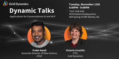 "Dynamic Talks: Atlanta ""Applications for Conversational AI and NLP"" tickets"