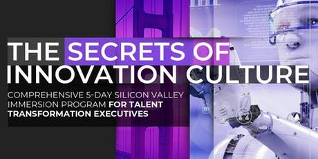 The Secrets of Innovation Culture | Executive Program | January tickets