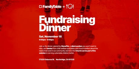 Family Table Fundraising Dinner tickets