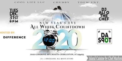 All WHITE Countdown NYE Party