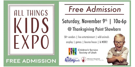 2019 All Things Kids Expo! tickets