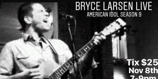 Bryce Larsen private concert - american idol season 9 at ground central
