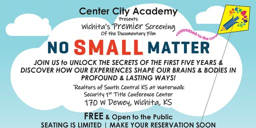 No Small Matter - Screening - Wichita's Premier