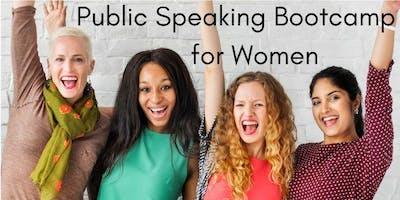 """Public Speaking Bootcamp for Women"""