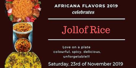 Africana Flavours 2019 billets