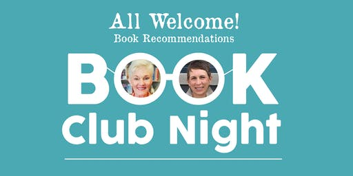 Book Club Night with Stephanie and Anderson